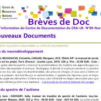 Brèves de doc N°89 -  février 2021